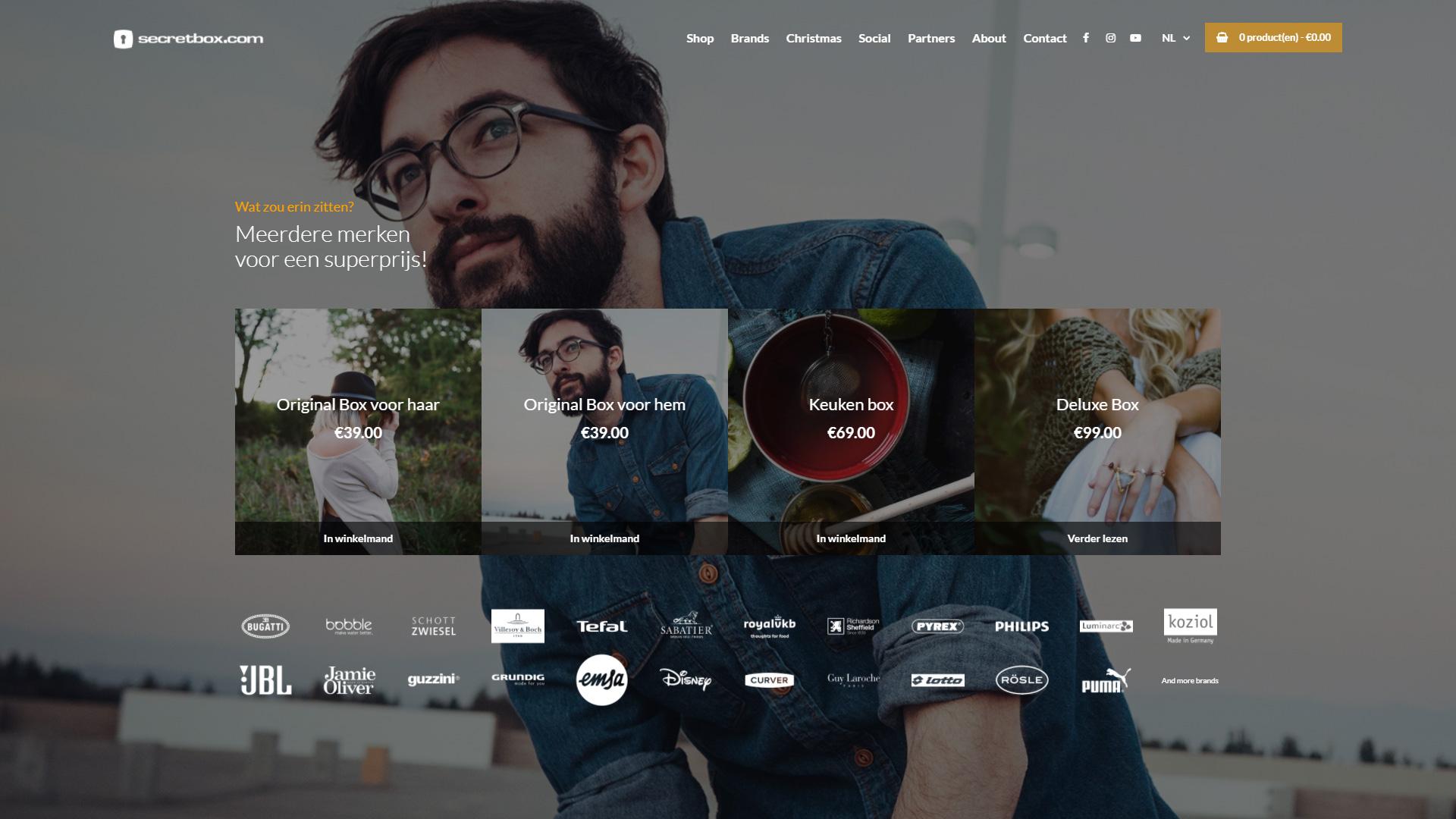 Secretbox.com - Productoverzicht